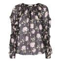 Azalea Floral Print Blouse, ${color}