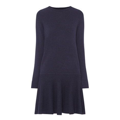 Mercer Pleated Sweater Dress, ${color}