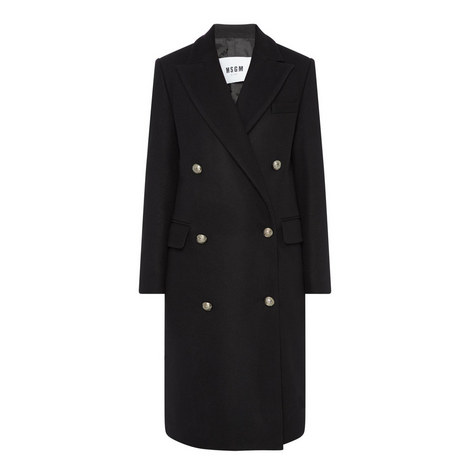 Double-Breasted Long Coat, ${color}