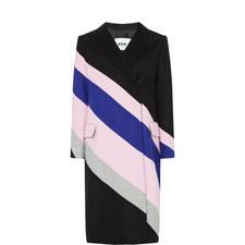 Striped Oversized Coat
