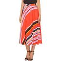 Diagonal Stripe Skirt, ${color}