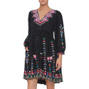 Vija Embroidered Dress, ${color}