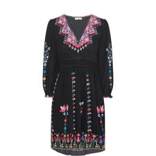 Vija Embroidered Dress