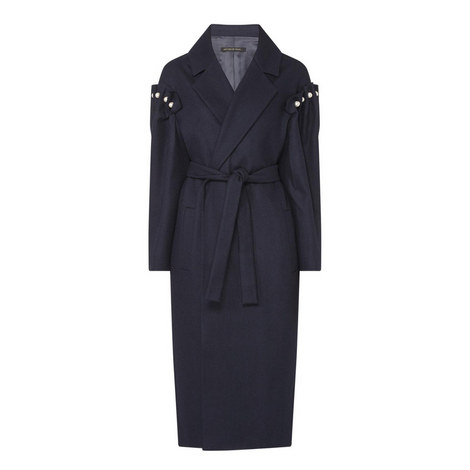 Pearl Wrap Coat, ${color}