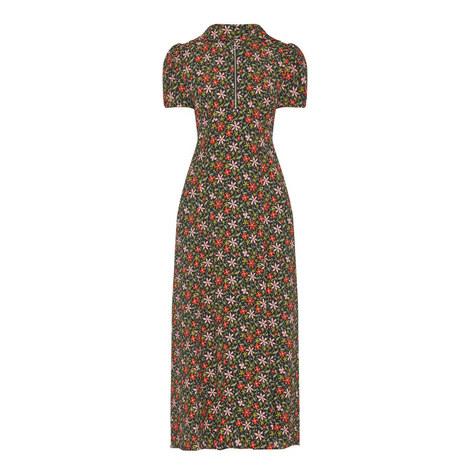 Hooded Floral Dress, ${color}