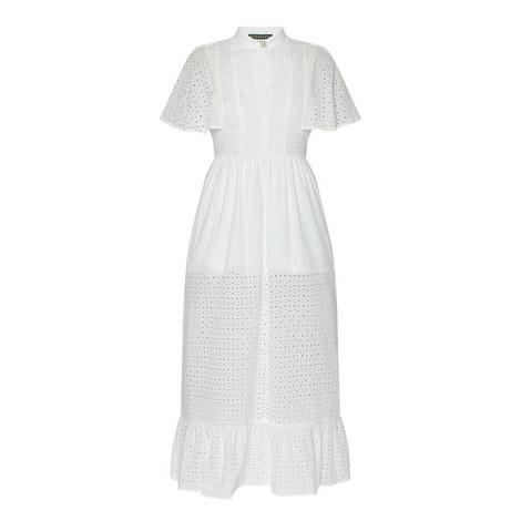 Frill Hem Cape Dress, ${color}