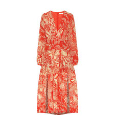 Camellia Jungle Print Dress