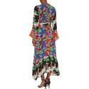 Chrissy Mixed Print Dress, ${color}