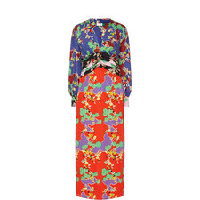 Fedora Cherry Blossom Print Dress