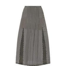 Georgia Star Print Midi Skirt