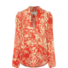 Moss Printed Blouse