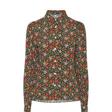 Collared Floral Shirt