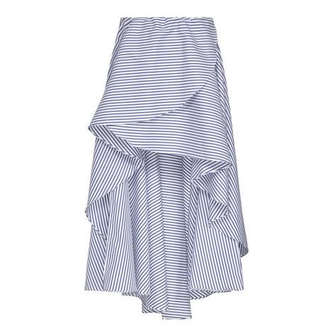 Adelle Stripe Skirt, ${color}