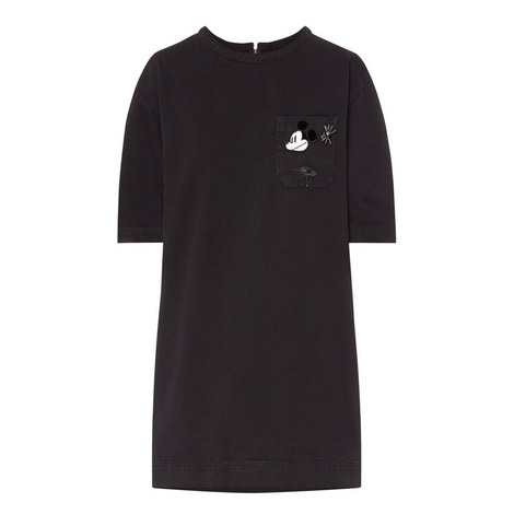 Mini Mouse T-Shirt Dress, ${color}