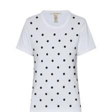 Sequin Dot T-Shirt