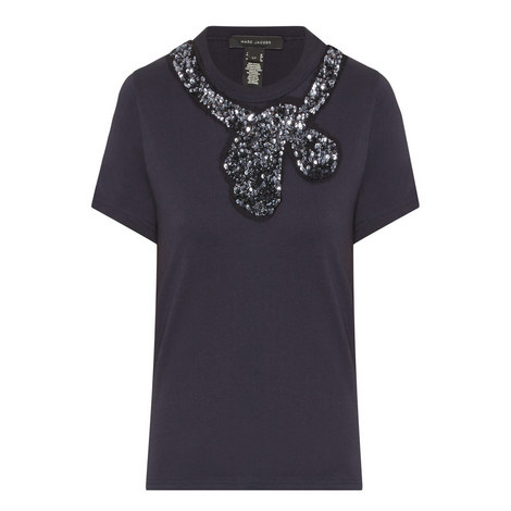 Sequinned T-Shirt, ${color}