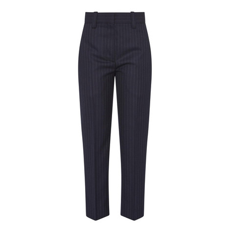 Trea Pinstripe Trousers, ${color}