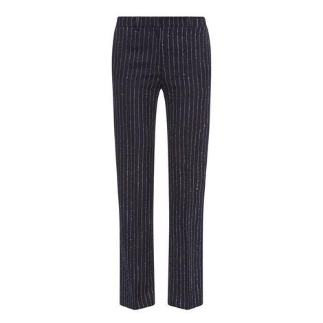 Maya Pinstripe Trousers, ${color}
