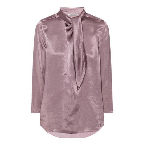 Bodil Satin Shirt, ${color}