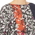 Loretha Flower Print Top, ${color}