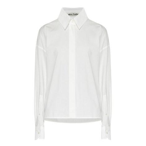 Britta Short Poplin Shirt, ${color}