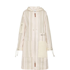 Aprill Relaxed Stripe Coat