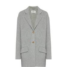 Lupi Short Single-Breasted Coat