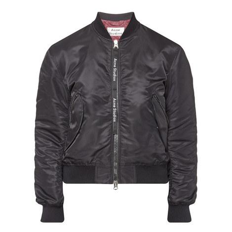 Clea Short Bomber Jacket, ${color}