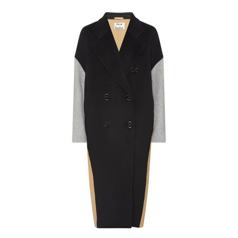 Cales Double-Breasted Coat, ${color}