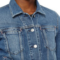 Cliff Fitted Denim Jacket , ${color}