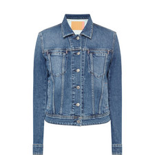 Cliff Fitted Denim Jacket