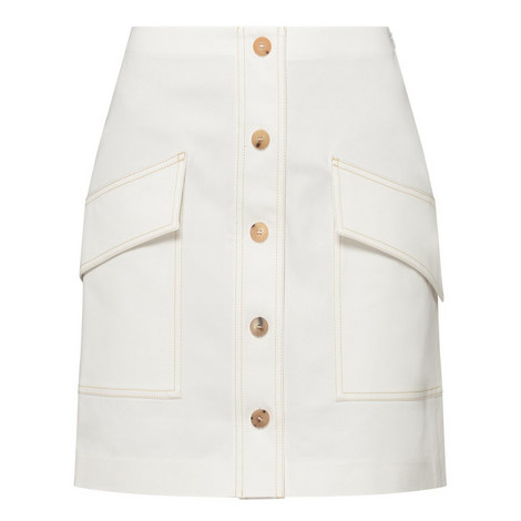 Sirenk White Skirt, ${color}