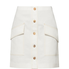 Sirenk White Skirt