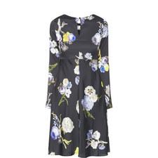 Dahari Flower Print Dress