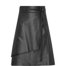 Lakos Leather Skirt