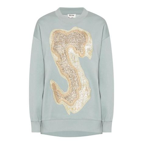 Karvel Appliqué Sweatshirt, ${color}