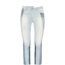 Isabelle Two-Toned Jeans