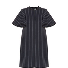 Stripe Short Sleeve Dress