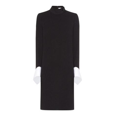 Draped Cuff Dress, ${color}