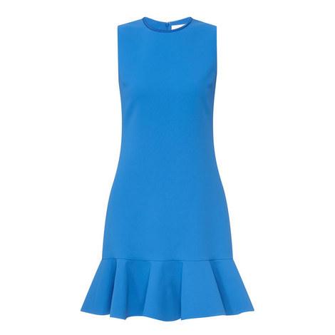 Ruffle Hem Mini Dress, ${color}