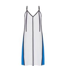Panelled V-Neck Dress