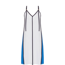 Panelled V-Neck Dress
