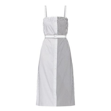 Stripe Panel Dress, ${color}