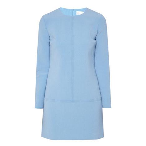 Long Sleeve Shift Dress, ${color}