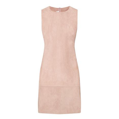 Suede Mini Dress, ${color}