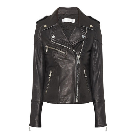 Cropped Biker Jacket, ${color}