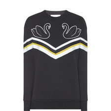 Relaxed Swan Sweatshirt