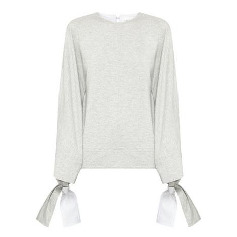 Tie Cuff Sweater, ${color}