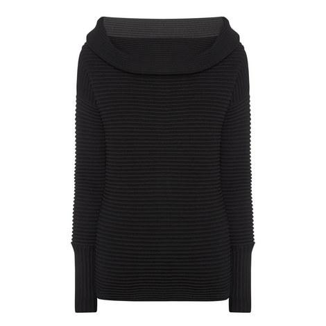 Off-Shoulder Sweater, ${color}