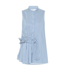 Pinstripe Linen Shirt